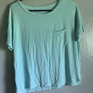 Light Blue American Eagle Soft and Sexy T-Shirt